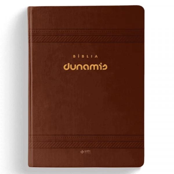 biblia dunamis classica marrom frente